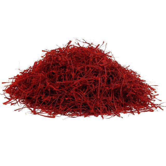 Negin-Safranfäden kleine Menge